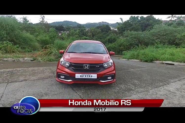 Production Models Honda Mobilio Rs 2017 Review Auto Focus