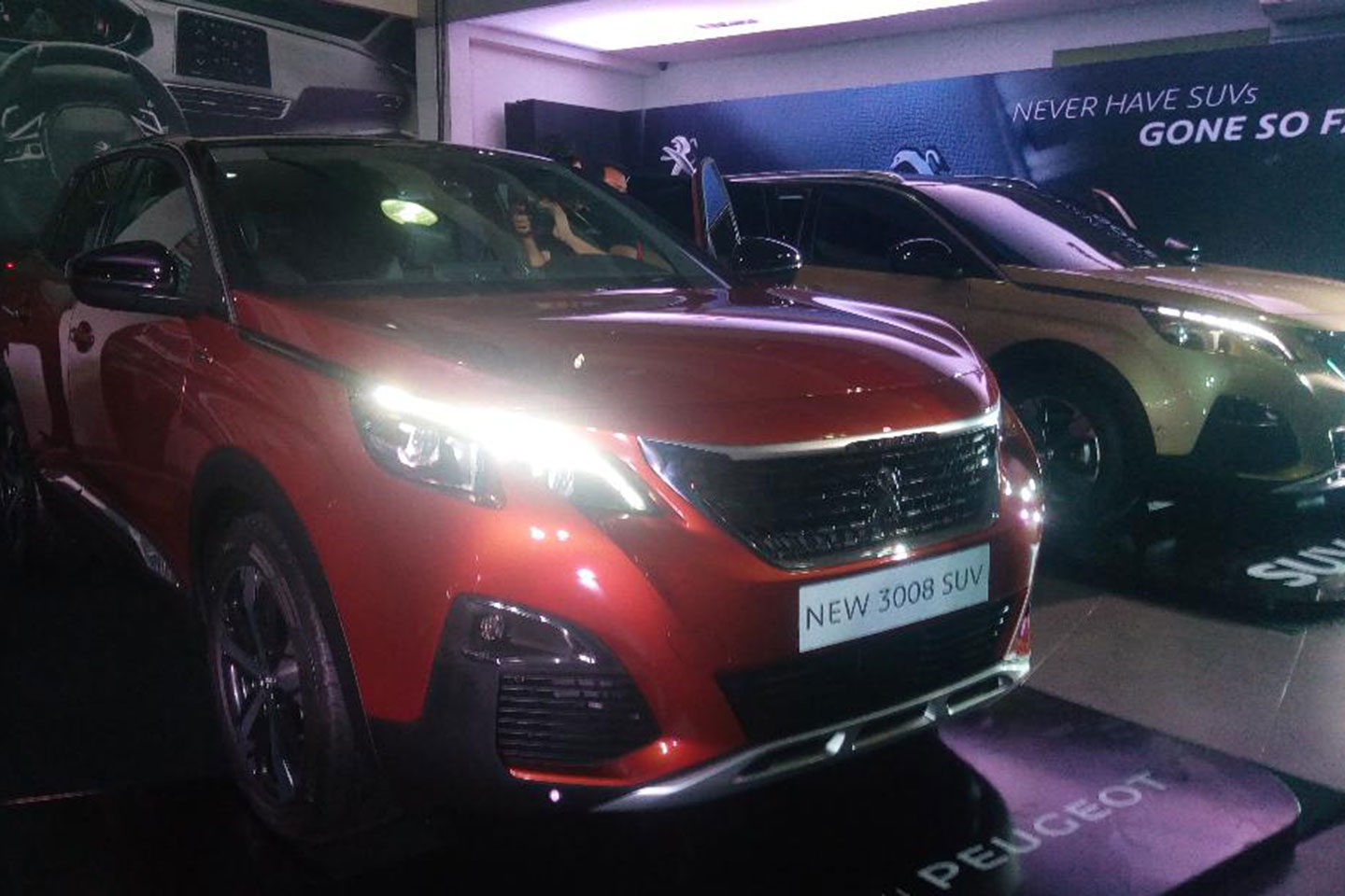 industry news: peugeot philippines unveils new suv range during